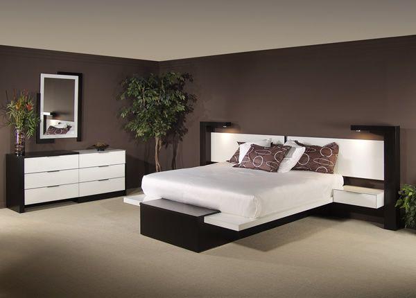 Modernes schlafzimmer braun  Wandfarben Ideen Schlafzimmer #1 | Interiors & Exteriors ...