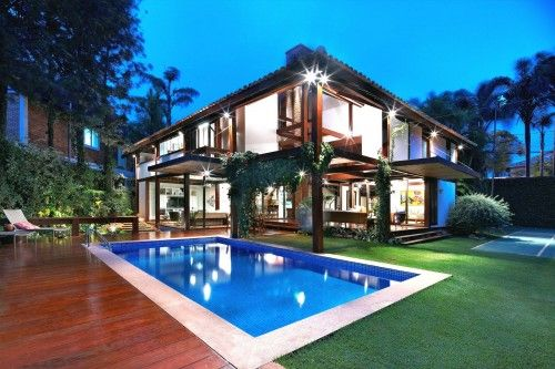 Modern Tropical House Inspiring Architectural Concept Of Indoor