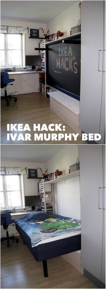 Ikea Hack Wall Bed Part - 17: Hack an IVAR Murphy bed - IKEA Hackers - IKEA Hackers