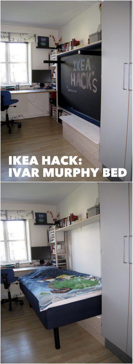 hack an ivar murphy bed ikea hackers ikea hackers