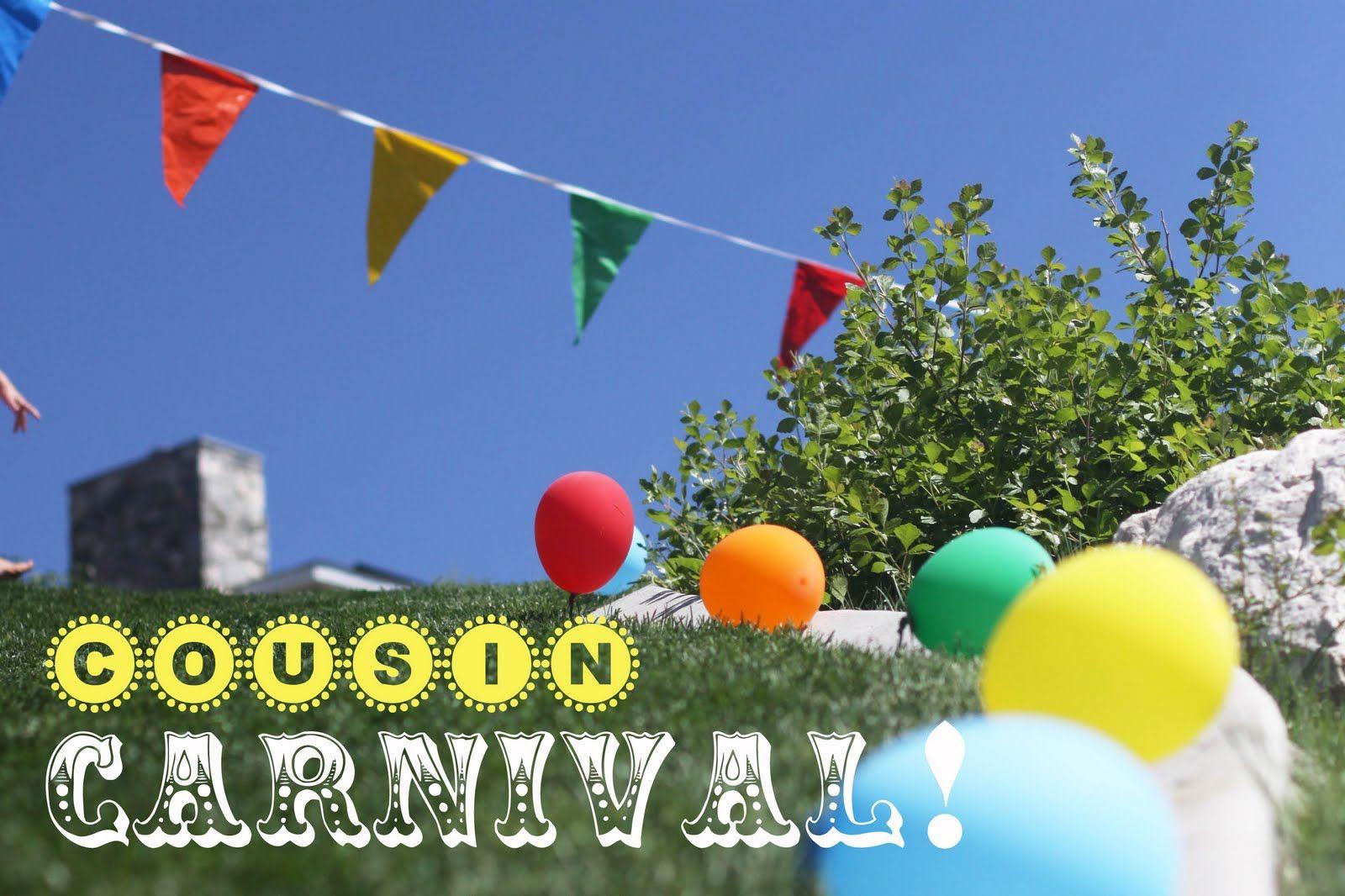 summer activity idea cousin carnival family reunion activities