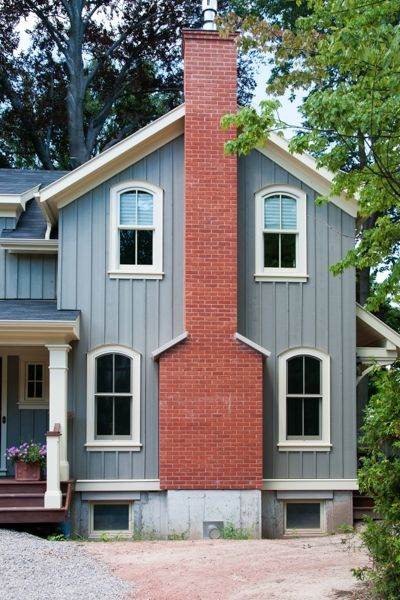 Home Renovation – Exterior Addition with Chimney, Oakville | whitehallhomes.ca