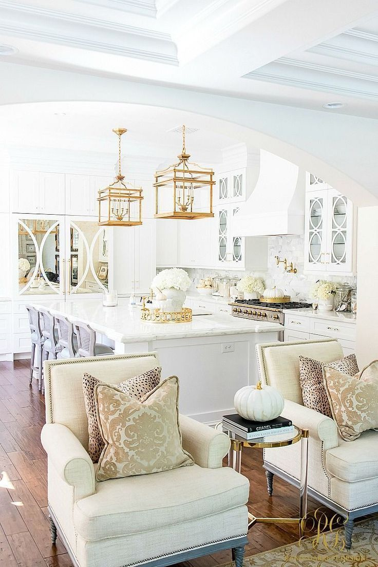 Photo of Family Room Makeover with a Well-Dressed Home – Randi Garrett Design – …