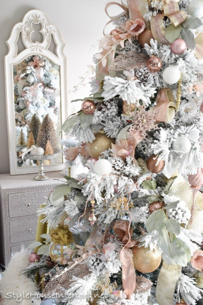 Master bedroom Christmas tour Christmas Most Beautifulest Trees