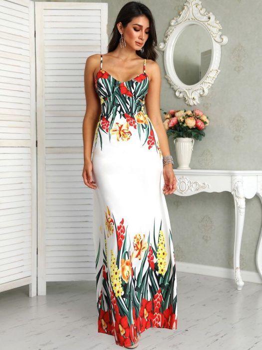 47 Vestidos Largos De Moda Para Lucir Elegante Y Con Estilo