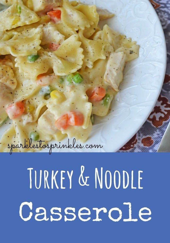 Photo of Turkey & Noodle Casserole