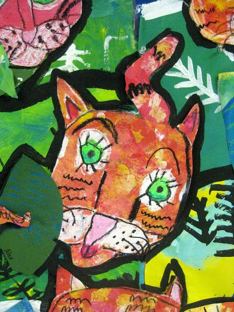 Cassie Stephens: In the Art Room: Creating a Rousseau-Inspired Mural with First Grade