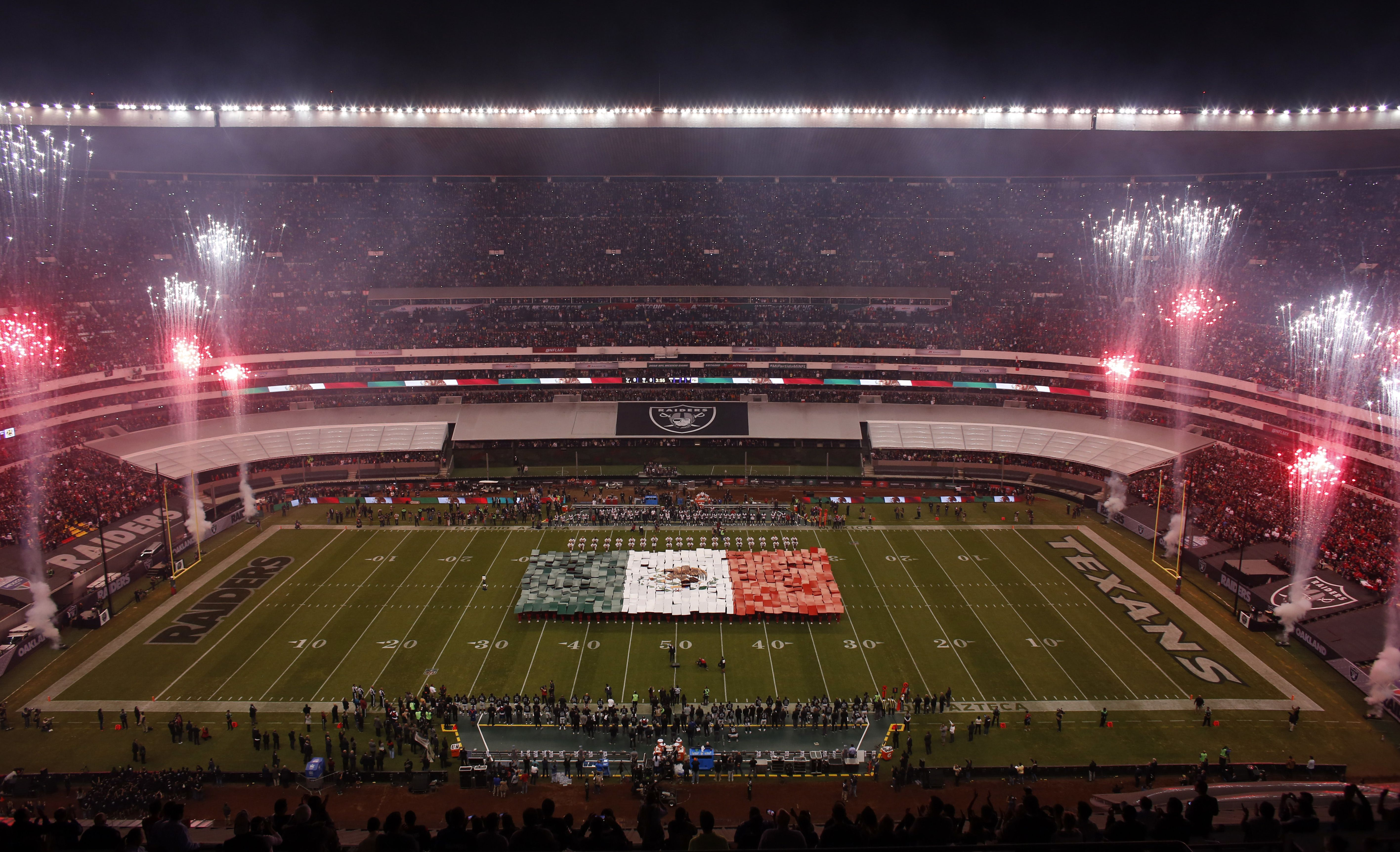 Football went back to Mexico City in Week 11, and the