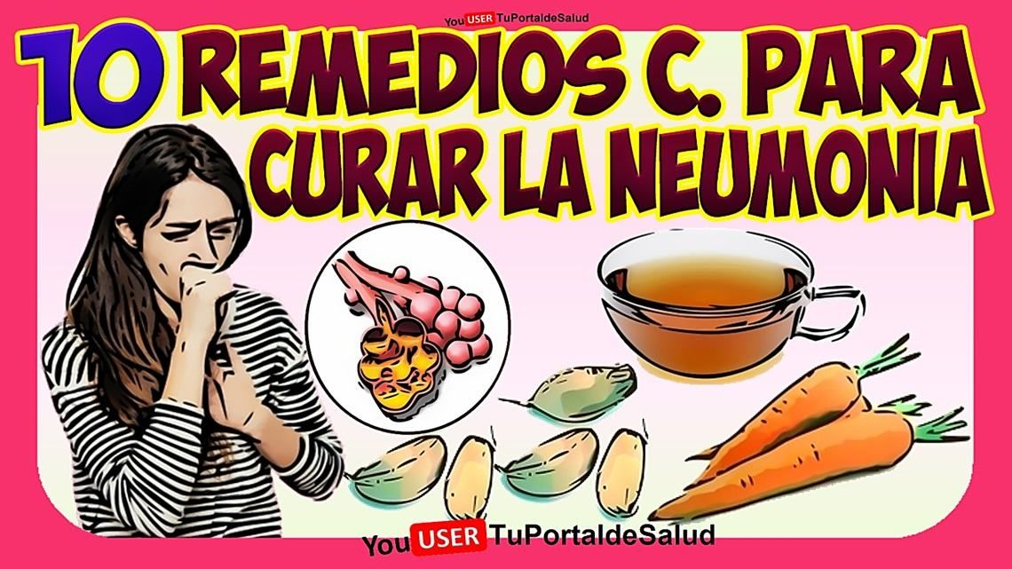 remedios caseros neumonia atipica