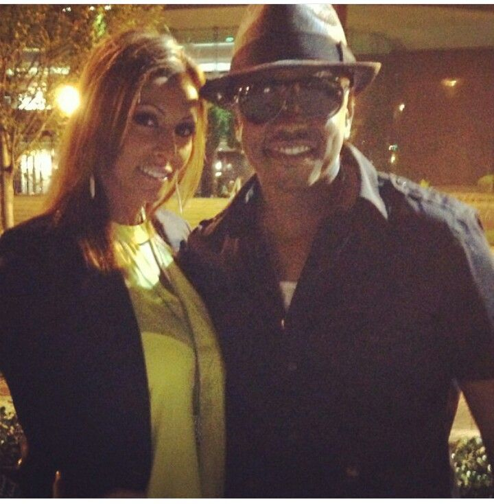 Donell Jones con hermoso, Esposa Jasmine Jones