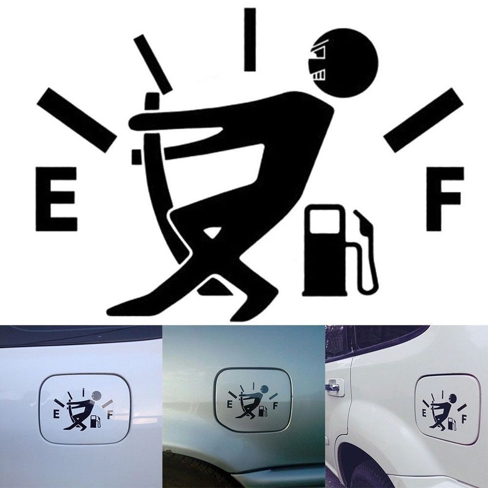 1pcs waterproof funny car sticker lowered truck boat window bumper vinyl decal unbranded cool car