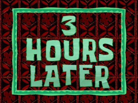Spongebob Hours Later