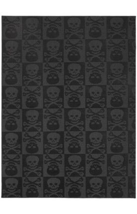 Garland Rug Magic Skulls Black Rug