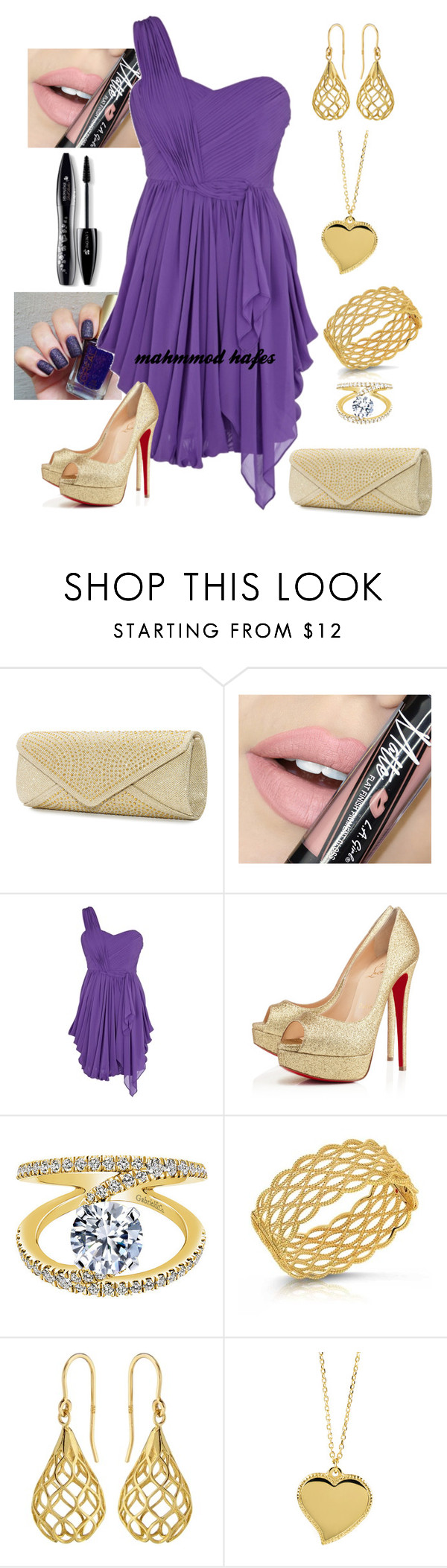 """""""mahmmod"""" by mahmmodhafes ❤ liked on Polyvore featuring Mascara, Fiebiger, Coast, Roberto Coin, Elements, West Coast Jewelry, Lancôme, women's clothing, women and female"""