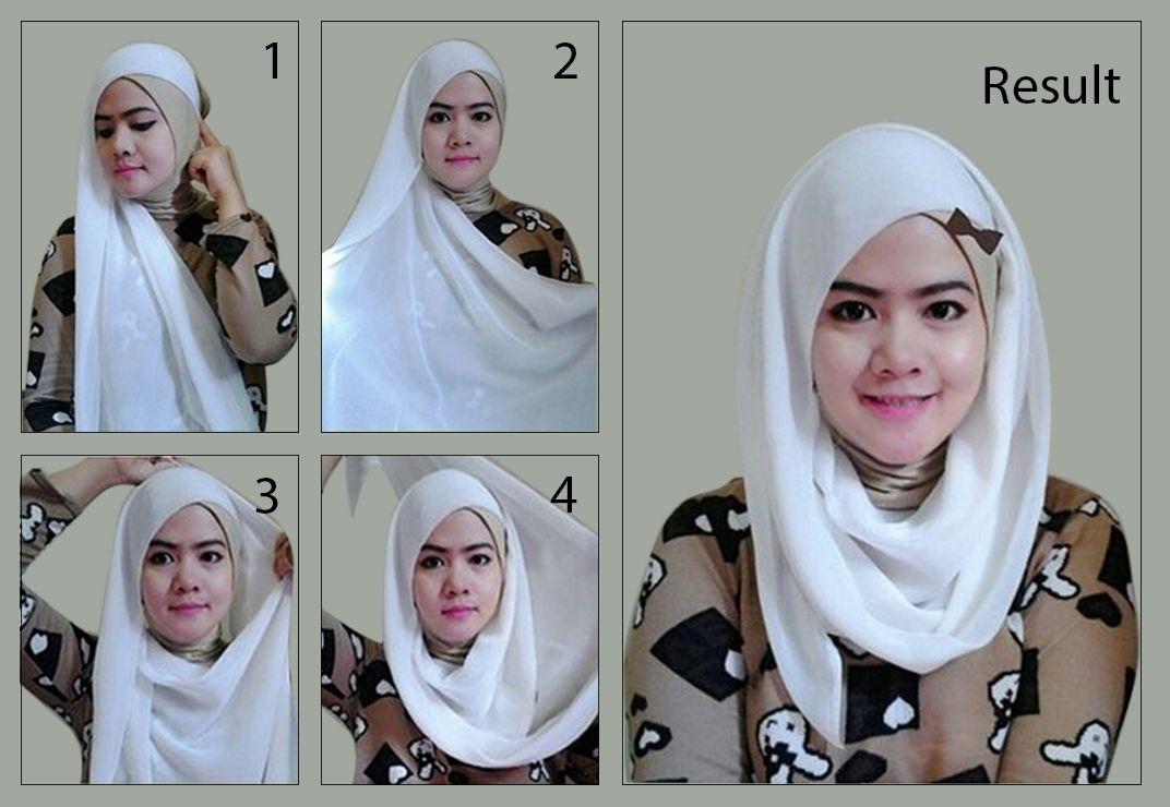 Gaya Selendang Kedut Yang Mudah Dan Menarik Hijab Fashiontrend