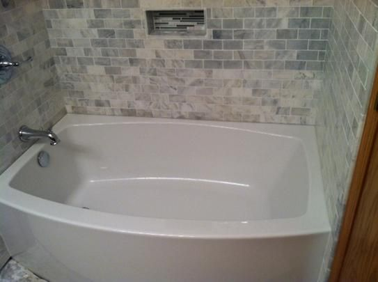 righthand drain acrylic bathtub in white reviews kohler reviews at - Kohler Bathtubs