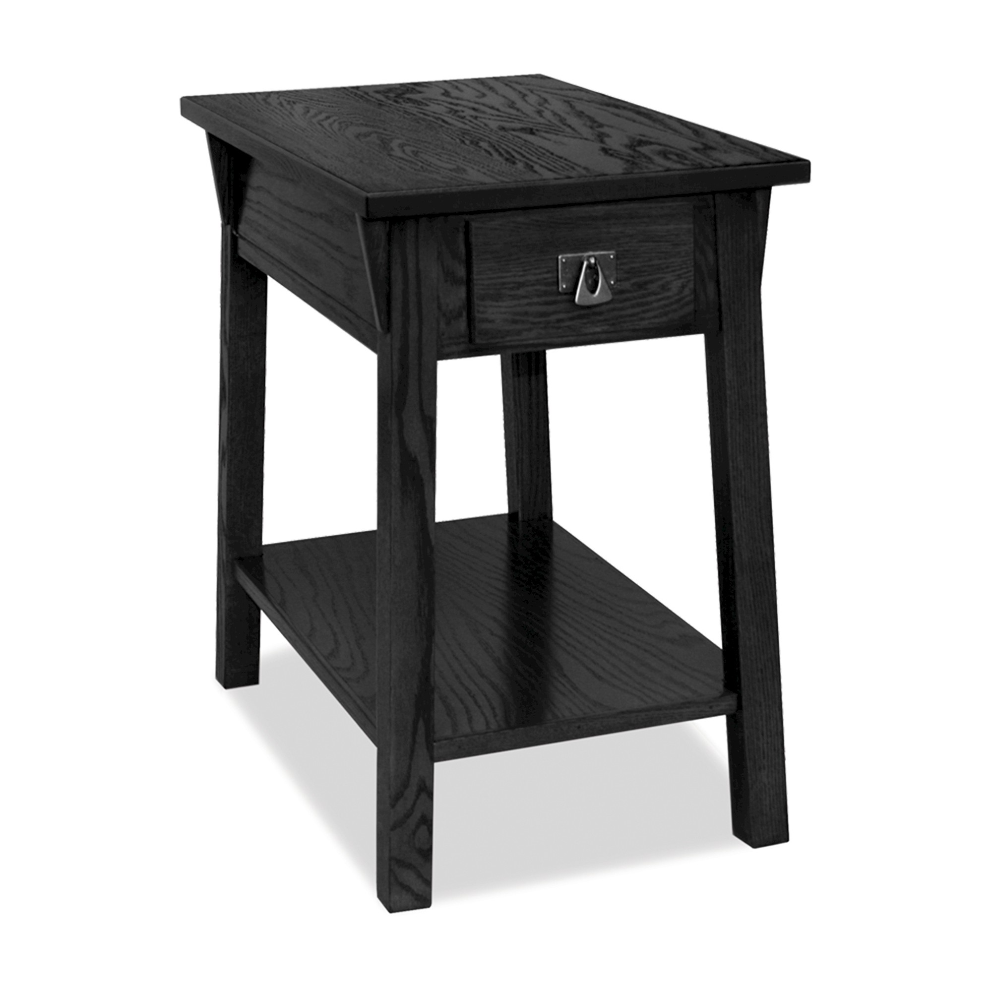 Favorite finds mission chairside table slate finish