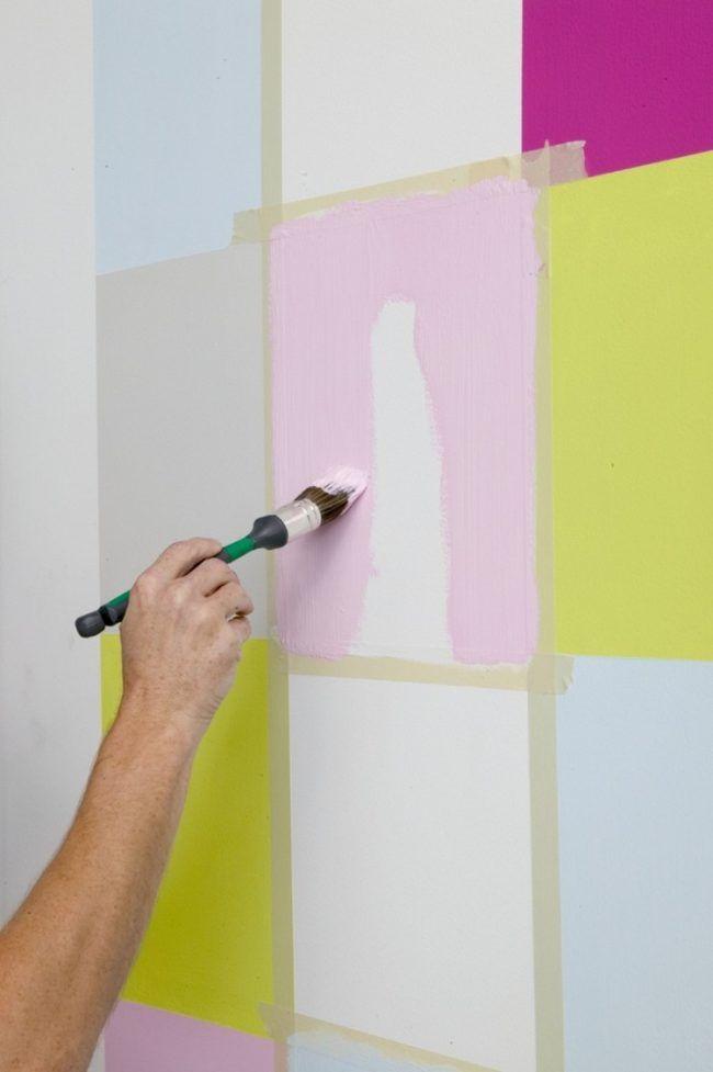 Wand Streichen Muster Selber Machen Kinderzimmer