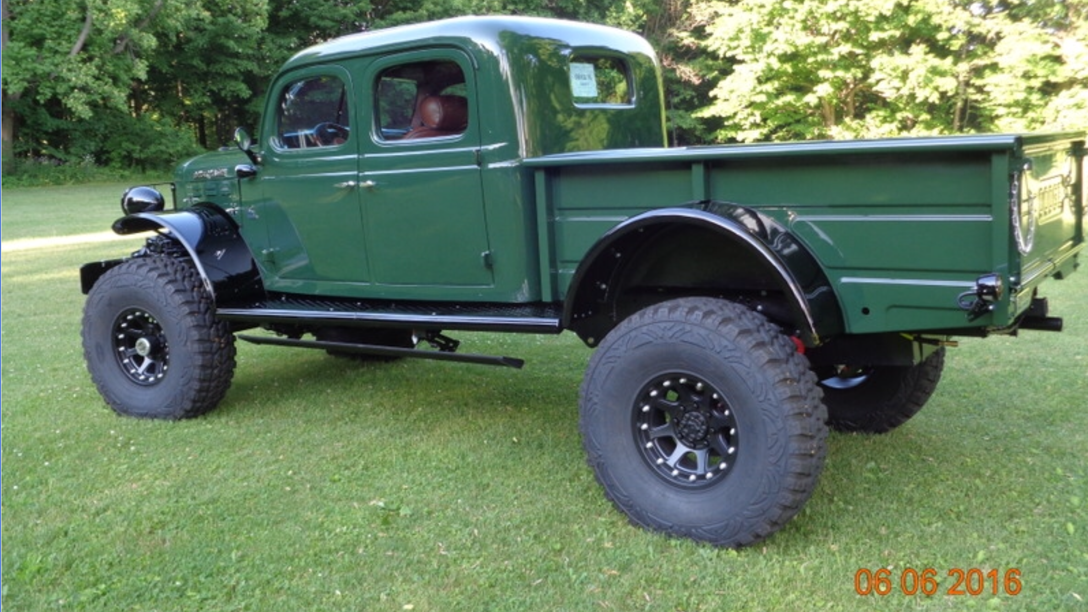 1947 Dodge Power Wagon Double Cab 4bt Precision Wagons Trucks Lifted