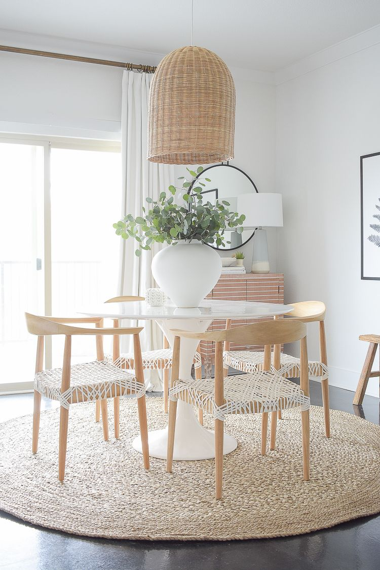 Casual, Chic Dining Room Reveal images
