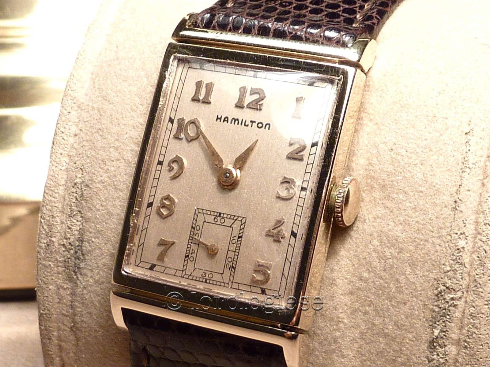 82ab32fe111 Hamilton Vintage Tank Watche circa 1950