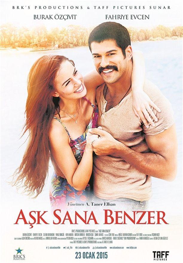 Ask Sana Benzer Burak özçivit Ve Fahriye Evcen Movies Series