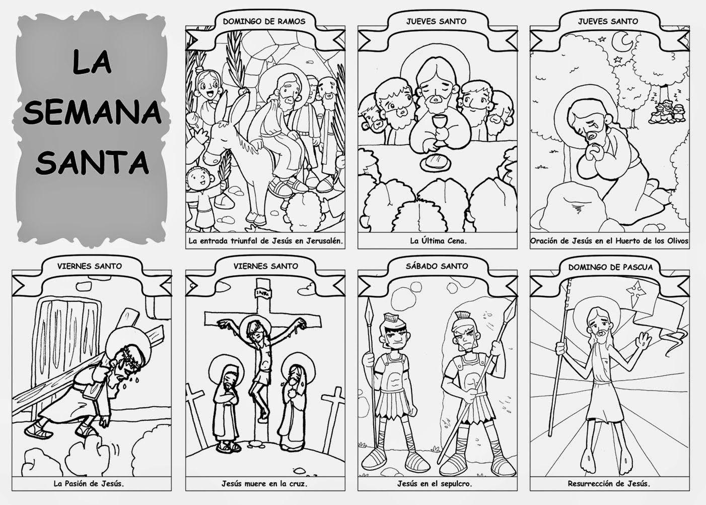 Recursos Para Mi Clase La Semana Santa En Imagenes Semana Santa