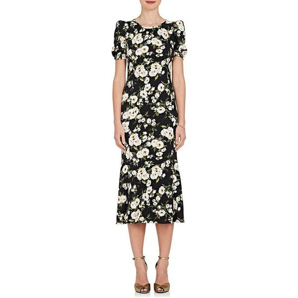 jewel print dress - Black Dolce & Gabbana
