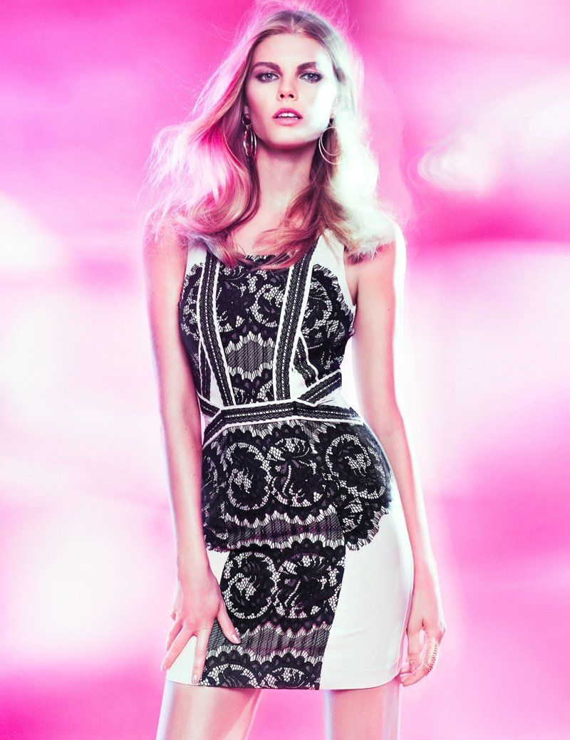 hm night lookbook4 Maryna Linchuk Models in H&M By Night Style Update