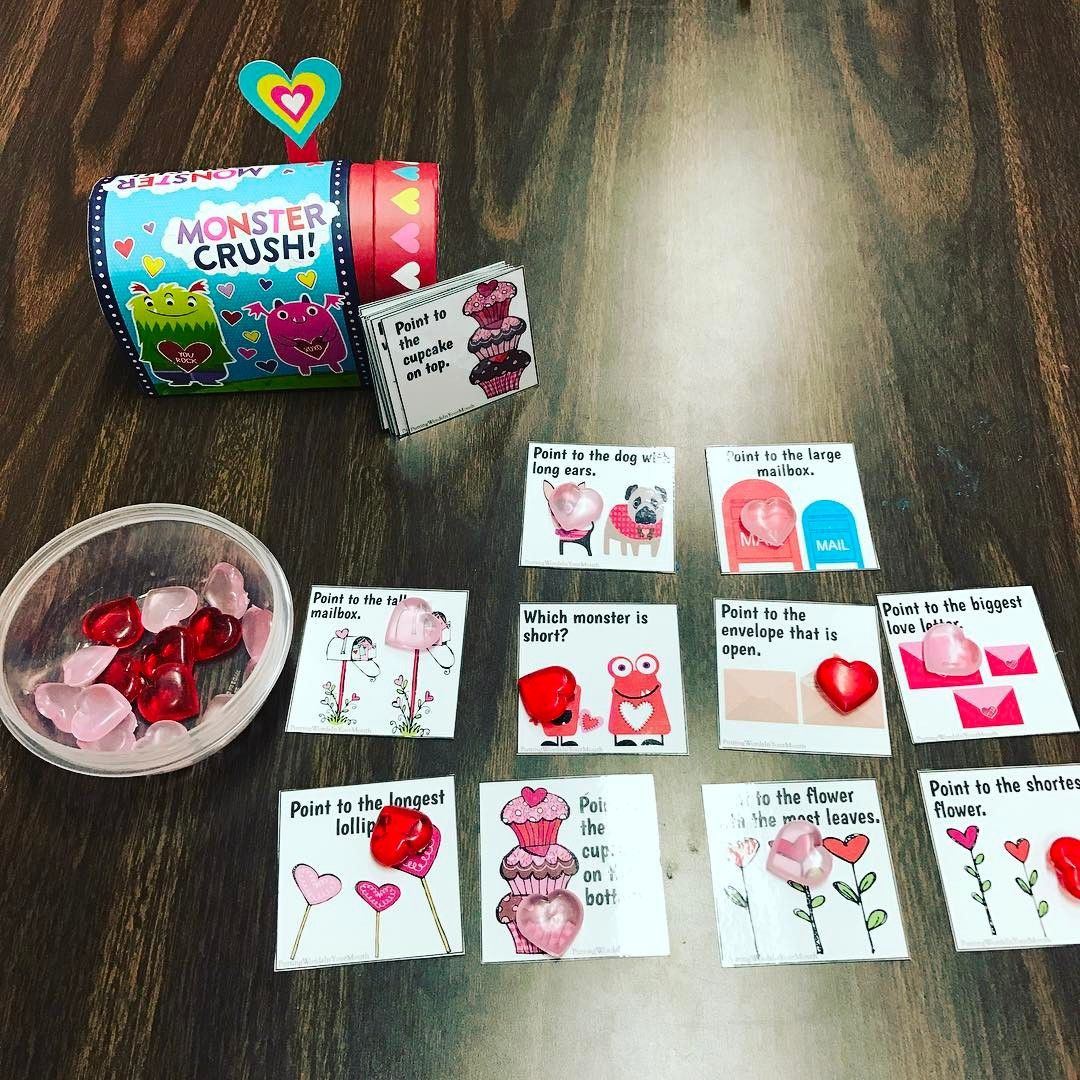 Language Therapy Activity For Valentine S Day Basic