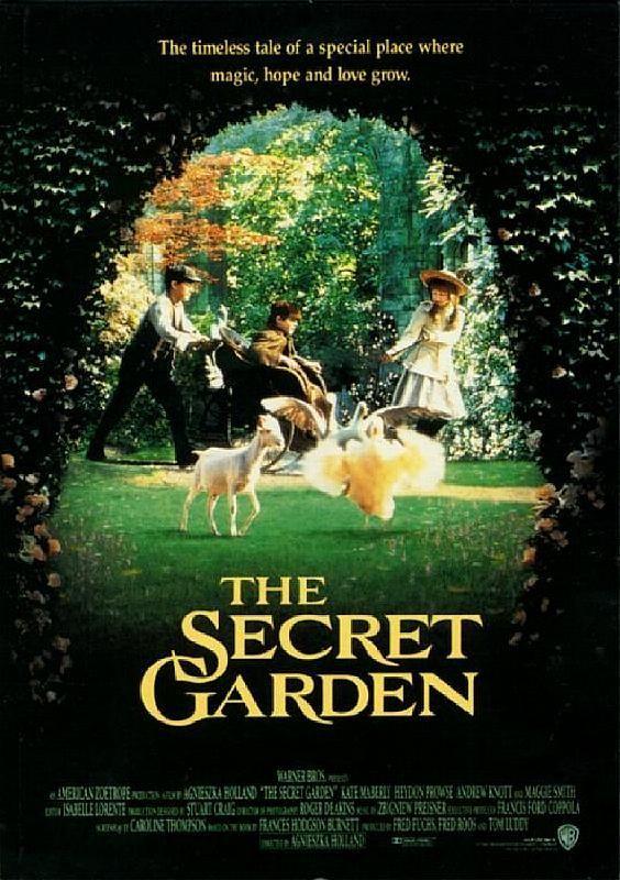 Poster - The Secret Garden, 1993 | Secret garden, The secret garden 1993,  Kids' movies