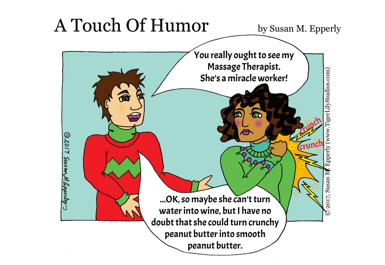 A Touch of Humor   Associated Bodywork & Massage Professionals