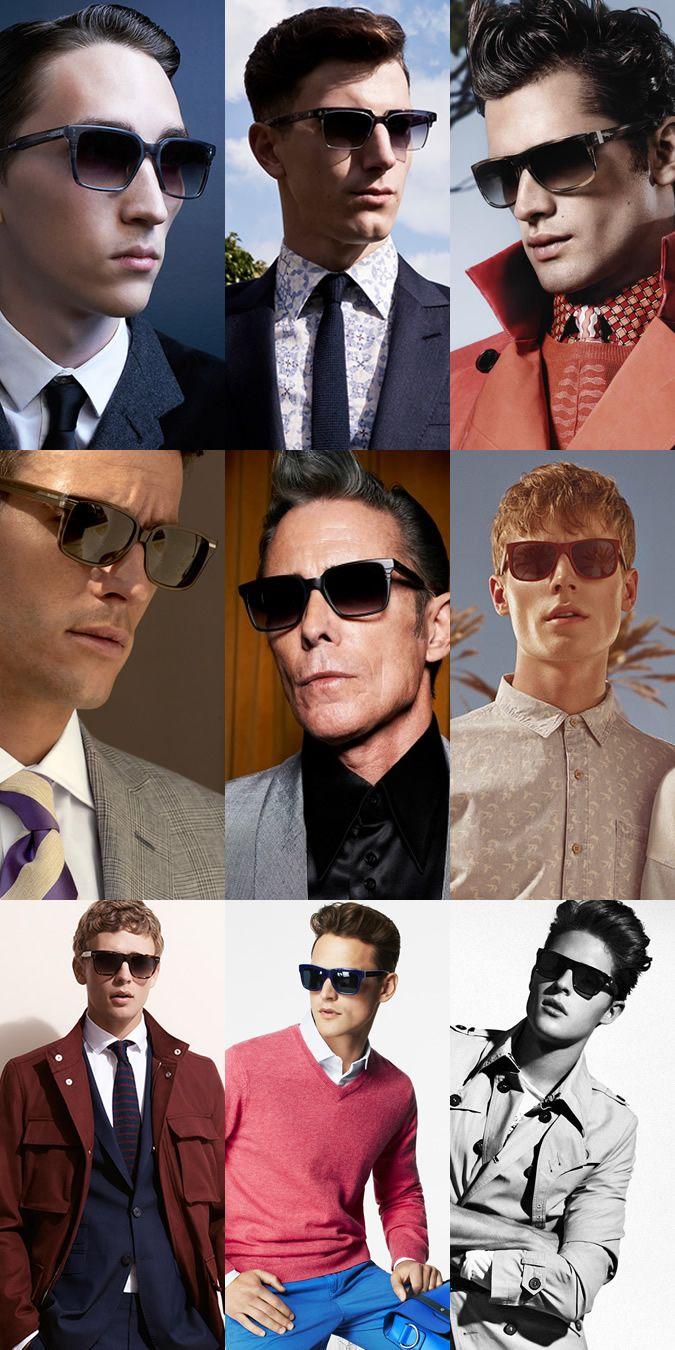 Men\'s D Frame Sunglasses Lookbook | Men\'s Style | Pinterest | Man style