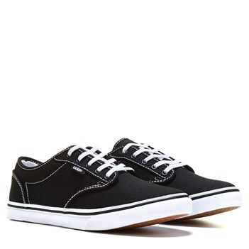 vans atwood womens black and white