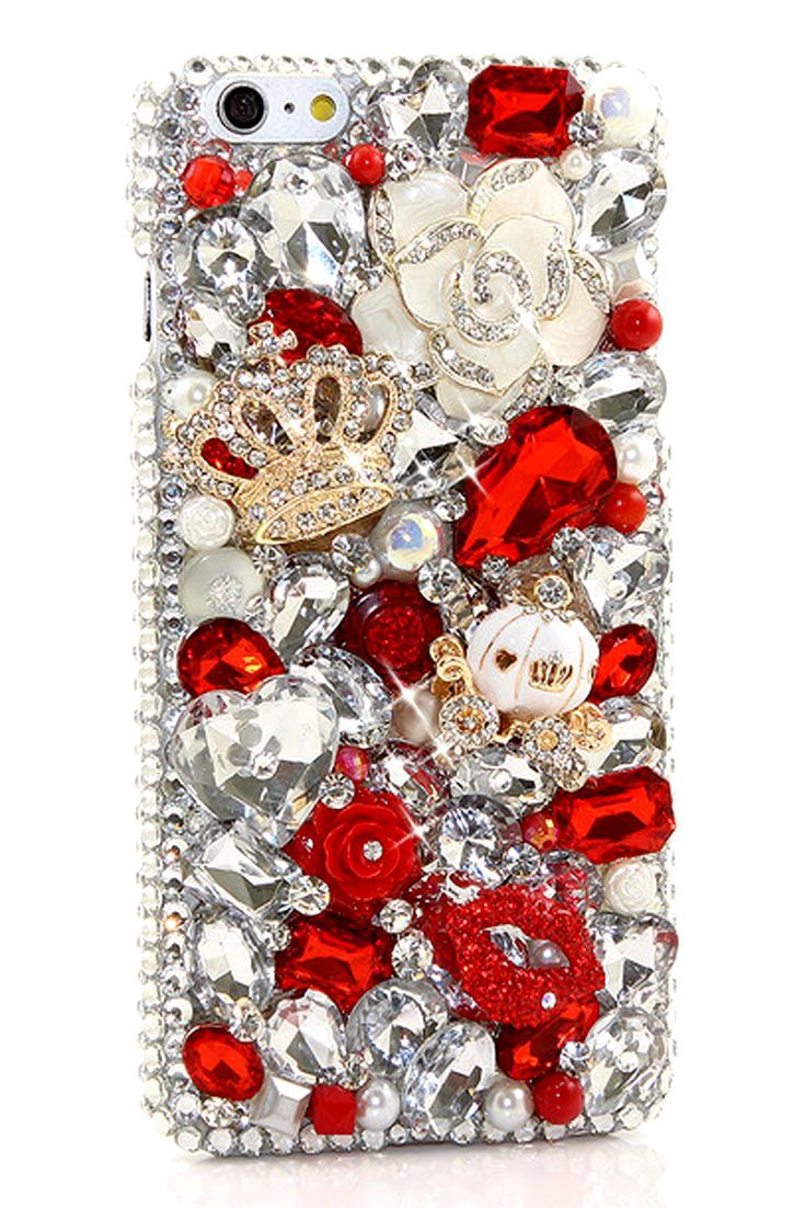 new arrival 64b65 5d1c6 Royalty in Red Design (Style 838) in 2019 | iPhone Cases | Bling ...