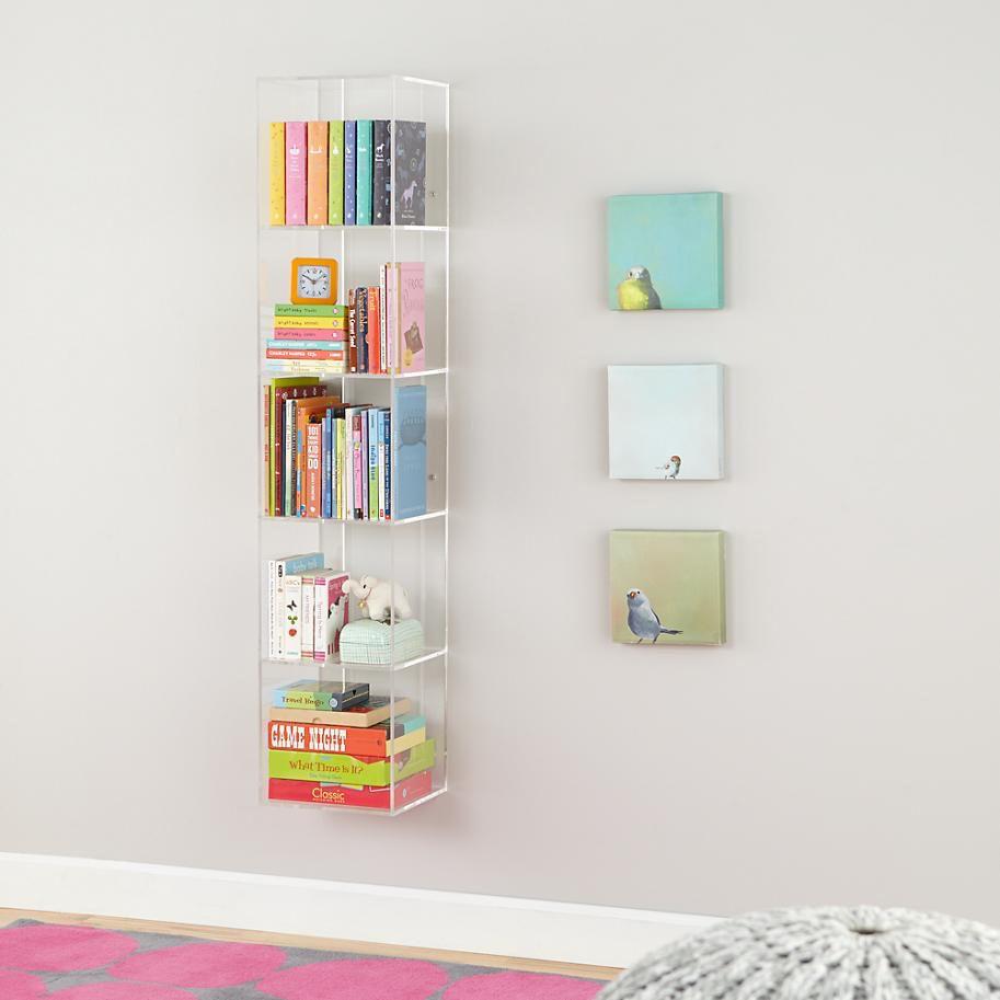 Nursery Wall Shelves Acrylic Bookcase Acrylic Shelf Nursery
