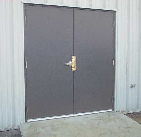 Metal double door large double doors pinterest for Large double doors exterior