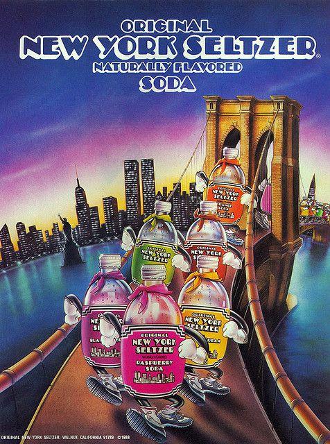 New York Seltzer Ad