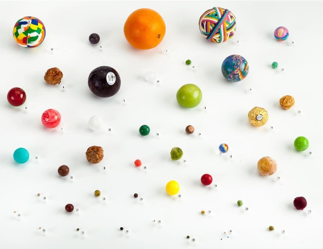 provocative-planet-pics-please.tumblr.com Image number 5552 #planets #lenkaclayton #perspective #spheres #supermarket #balls #sculpture #conceptualart #pataphysics #solarsystem #pittsburgh #giftideas by imageassociation https://www.instagram.com/p/BFCTeOXB5FT/
