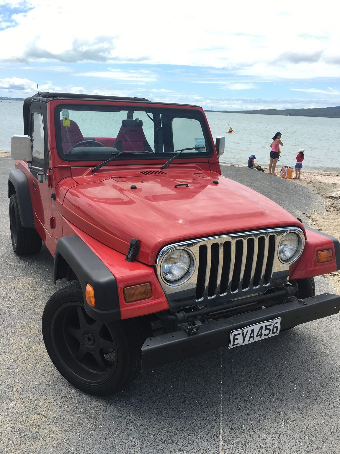 Macgyver Style Red Jeep Wrangler For Sale Video In Listing Is