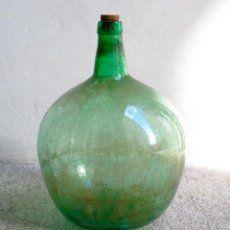 Compro Botellas De Vino Antiguas Garrafa Vino Botella Damajuana Vidrio Cristal Antigua Cristal