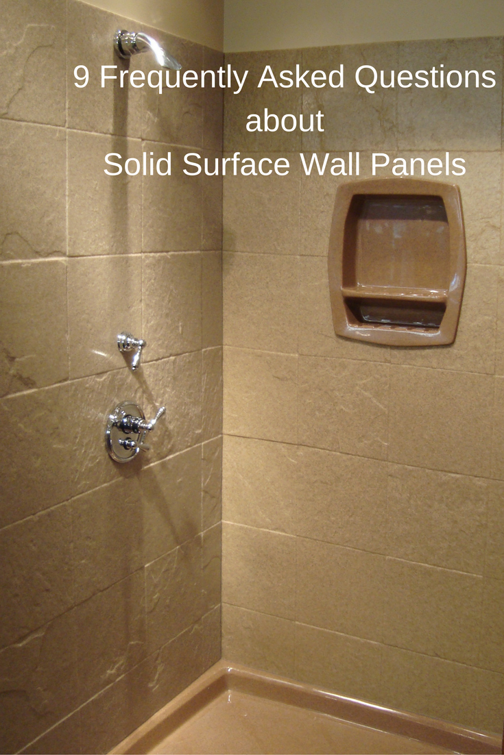 9 Frequently Asked Questions about Stone Solid Surface Shower Wall ...