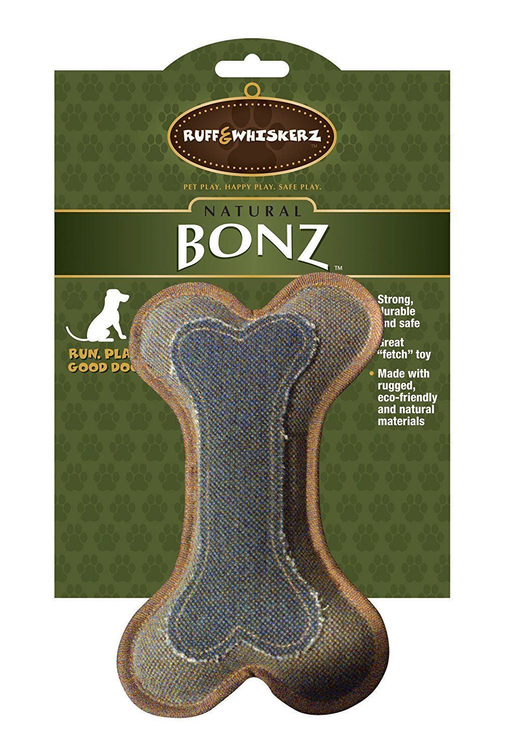 Ruff and Whiskerz Natural Bone Dog Toy * You can get