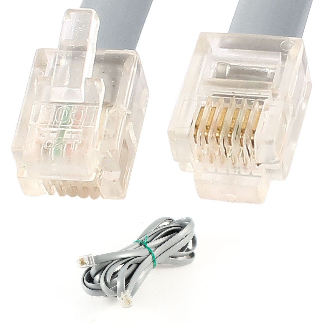 Telephone Wiring Colors Also 6 Pin Rj12 Cable Wiring On Telephone