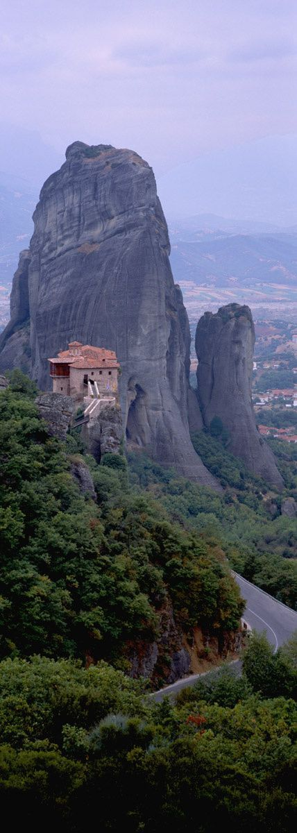 ¿Te gusta conducir?: 40 carreteras donde hacerse un road trip #ioannina-grecce Carreteras de Meteora (Grecia) #ioannina-grecce