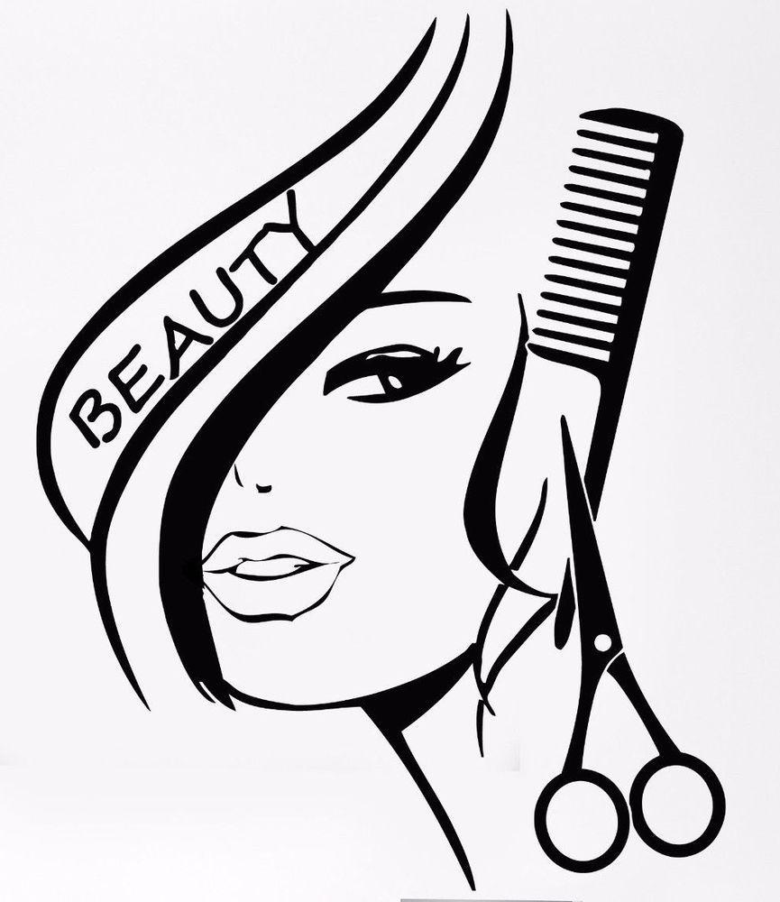 Картинка эмблема парикмахерской