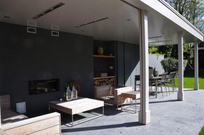 Veranda industrieel google zoeken nieuwe huis pinterest verandas and modern - Huis met veranda binnenkomst ...