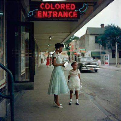 A bus station in Birmingham, Alabama, 1956. Photo by Gordon Parks