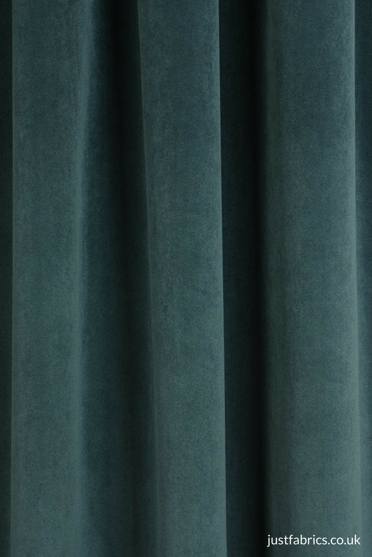 Jf Velvet Curtain Fabric Beautiful Blue Colour Curtains Upholstery Fabric Curtain Material
