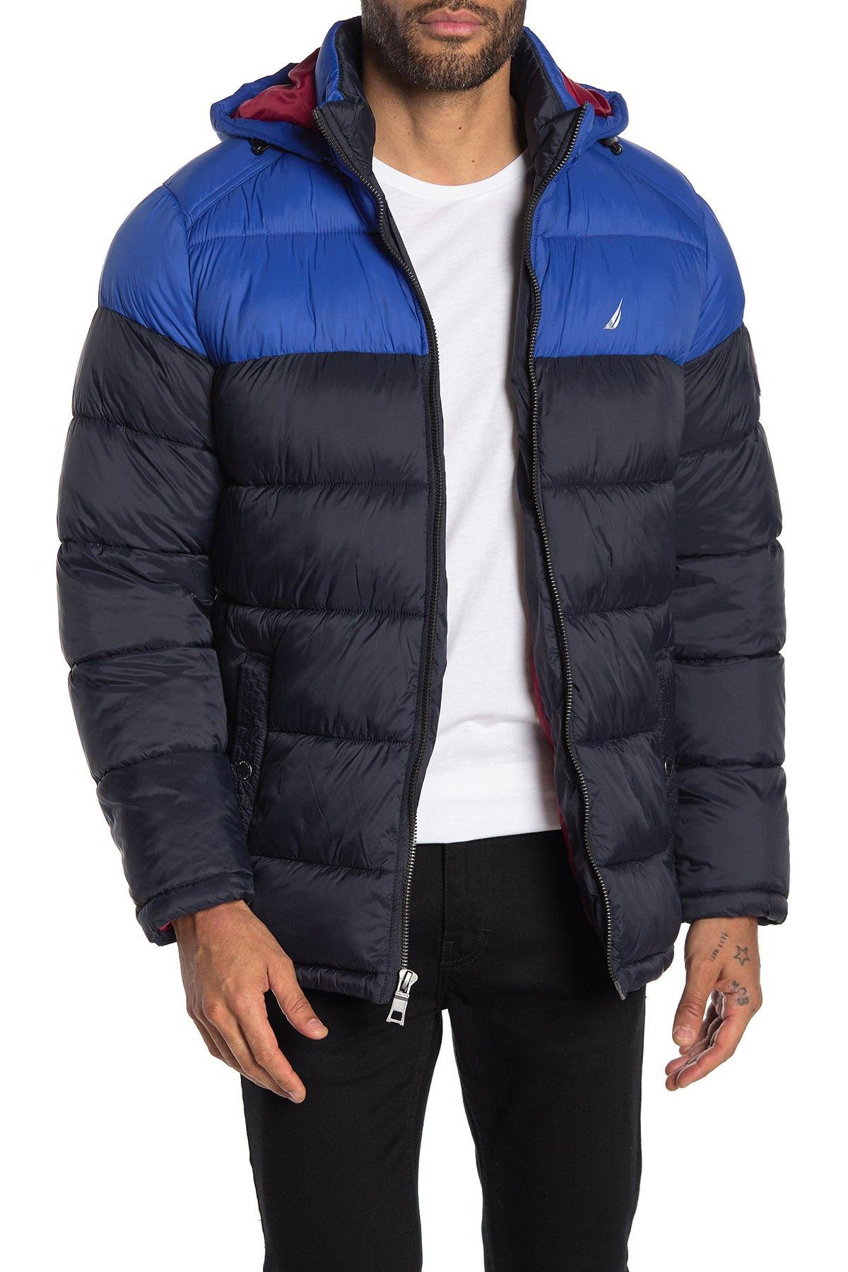 Nautica Water Resistant Hooded Puffer Jacket Nordstrom Rack Wind Resistant Jacket Puffer Jackets Jackets [ 1800 x 1200 Pixel ]